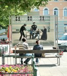 Right to stay, Billboard Installation, Graz, 2007