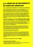 Freedom of movement is our right! (leaflet)