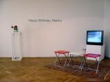 "Lisl Ponger, Happy Birthday History, Installation, IG BIldende Kunst ""Zone 2005"", Vienna  2005"