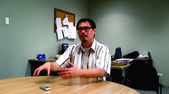 Filmstill: Interview with Dr. Feorillo Petronilo A. Demetrio III Martin Krenn HD digital, 23 min, Manila 2014, Engl.